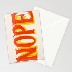 Throw Back Nope Stationery Cards