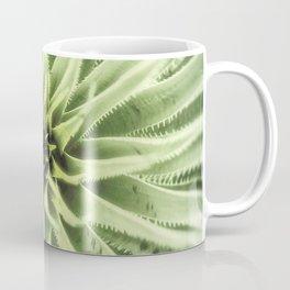 Sotol Agave Abstract by Murray Bolesta Coffee Mug