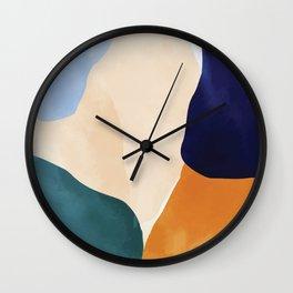 Color Paradise II #illustration Art Print Wall Clock