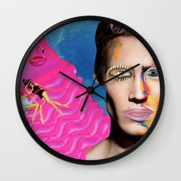 Summer crush Wall Clock