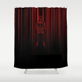 Lasers Shower Curtain
