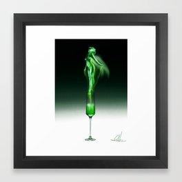 Absinth. Framed Art Print