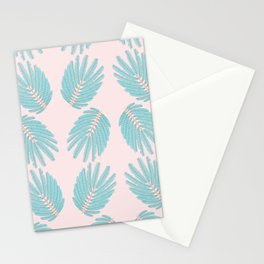 Even-Pinnate Leaf Pattern Stationery Cards
