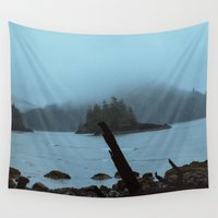 michael scott Wall Tapestries featuring Cape Scott by Kevin Russ