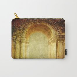Vintage traditional old fort main gate design Carry-All Pouch