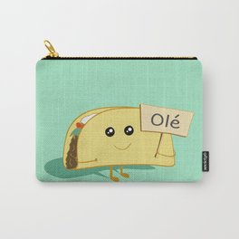 Happy Taco, Olé Carry-All Pouch