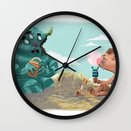 Death of the Imagination Wall Clock