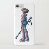 nausicaa iPhone & iPod Cases featuring Nausicaa's Stare by Voddas
