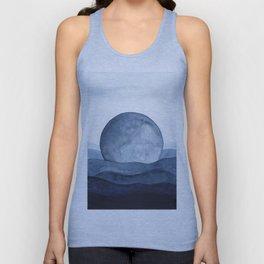 Moon Landscape Unisex Tank Top