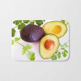 Avocado & fresh coriander Bath Mat