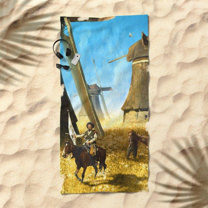 Giants on the Plains Beach Towel