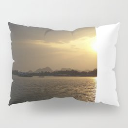 Sunset On The River Kwai Pillow Sham