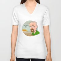 breaking bad V-neck T-shirts featuring Breaking Bad by Design Grinder