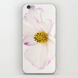 Sensation Cosmos White Bloom iPhone Skin