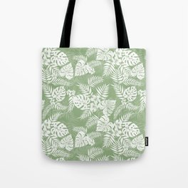 Palm Leaves Pattern 2 Tote Bag
