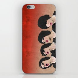 Alice Glass heads in motion WS iPhone Skin