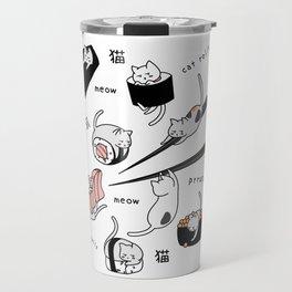 Sushi cats Travel Mug