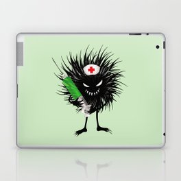 Evil Bug Nurse With Syringe Laptop & iPad Skin
