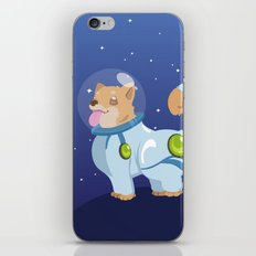 Corgis in Space iPhone & iPod Skin