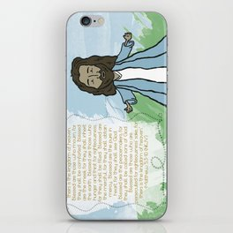 Beatitudes iPhone Skin