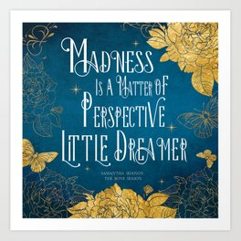 Little Dreamer - The Bone Season Art Print