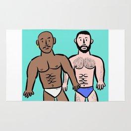 Beard Boy: Sam & Hector Rug