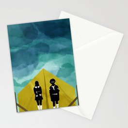 Moonrise Kingdom Silhouette Movie Poster Stationery Cards