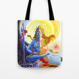 Shiva and Shakti Tote Bag