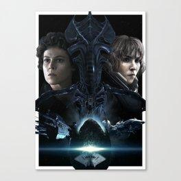 Alien Legacy Canvas Print
