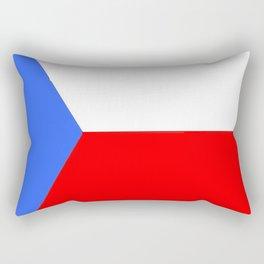 flag of Czech 2 -Czechia,Česko,Bohemia,Moravia, Silesia,Prague. Rectangular Pillow