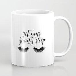 Makeup Quote, Mascara Makes Everything Better, Eyelash Decor, Girls Room Decor Coffee Mug