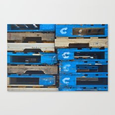 Stacked Together Canvas Print
