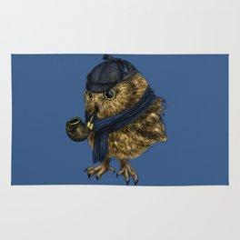 Sherlock // owl Rug