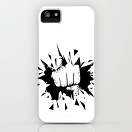 punches iPhone Case