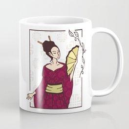 Geisha Japanese Artists Coffee Mug