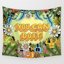 YOU CAN DO IT! Wall Tapestry