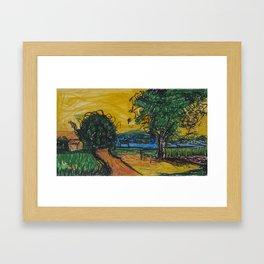 Inspired by Van Framed Art Print
