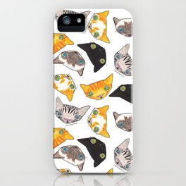 """Oro?"" Cats iPhone Case"