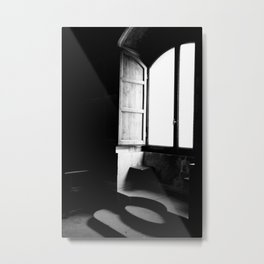 Hidden Spaces of Poppi Castle Metal Print