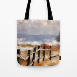 Morning Mists In The Mountain Tote Bag