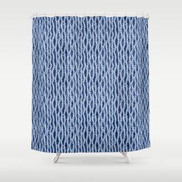 Shibori Eight Shower Curtain