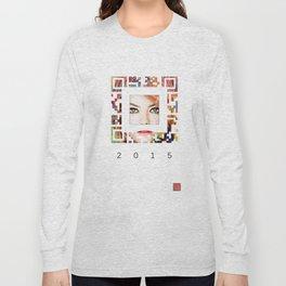 emma qr square'd Long Sleeve T-shirt