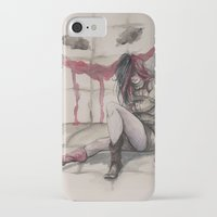 harley iPhone & iPod Cases featuring Harley by Alonzo Canto
