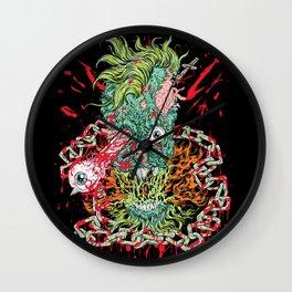 Dead Chains Wall Clock