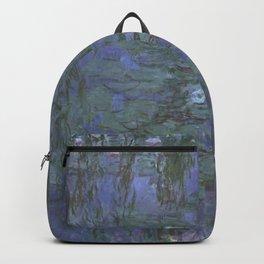 Claude Monet - Blue Water Lilies.jpg Backpack