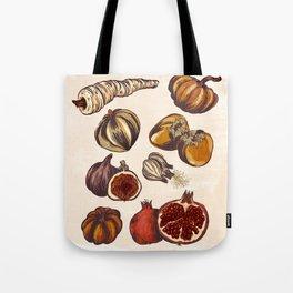 Fall Produce Tote Bag