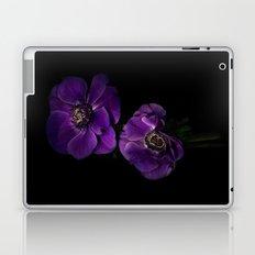 Two Purple Anemones Laptop & iPad Skin