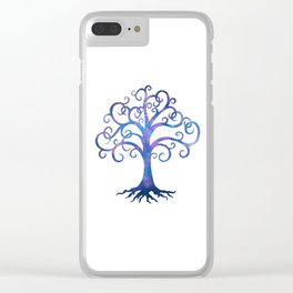 Twilight Tree Clear iPhone Case