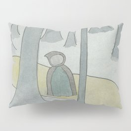 Golden Path in the Forest Pillow Sham