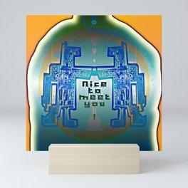 Nice to meet You / Robotic Lab Mini Art Print